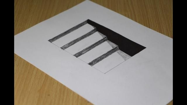 Cool Hole 3d Drawing Easy For Kids Step By Step