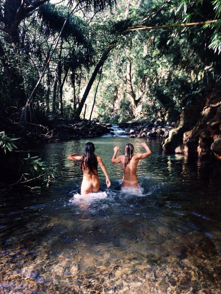 Brazil teens skinny dip nudists, bib ebony girls