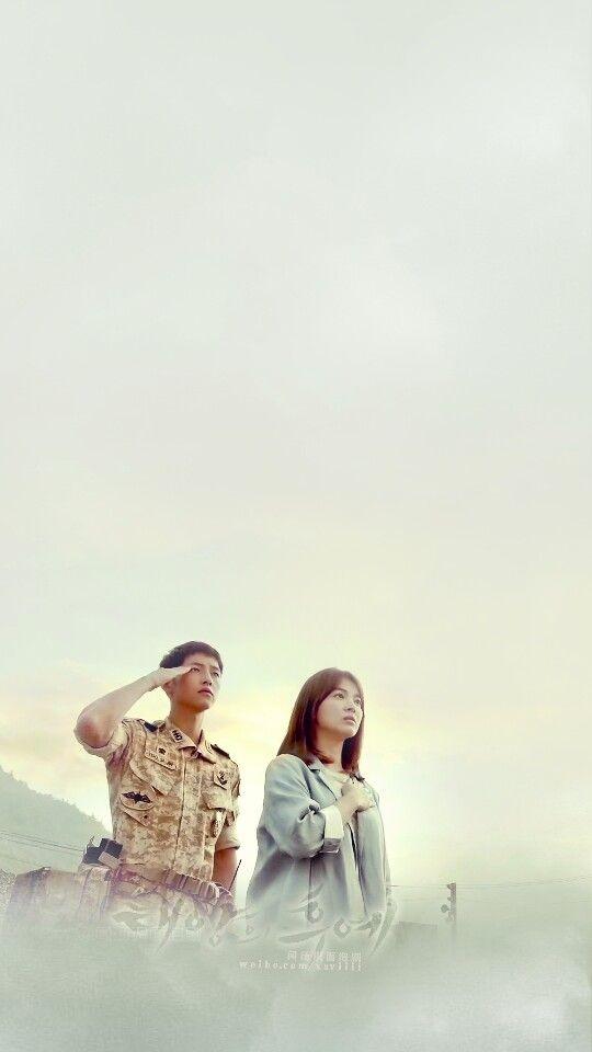 Wallpaper HD Descendants of The Sun 태양의 후예 Starring: Song Joong Ki 송중기 as Yoo Si Jin Song Hye Kyo 송혜교 as Kang Mo Yeon Jin Goo 진구 as Seo Dae Young Kim Ji Won 김지원 as Yoon Myung Joo Onew 온유 (이진기) as Lee Chi Hoon