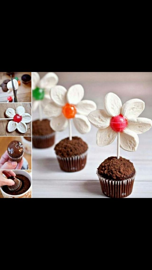 Blomstermuffins