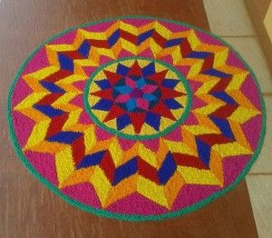 Rangoli Designs for Holi