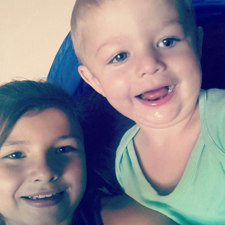 Me and me nephew