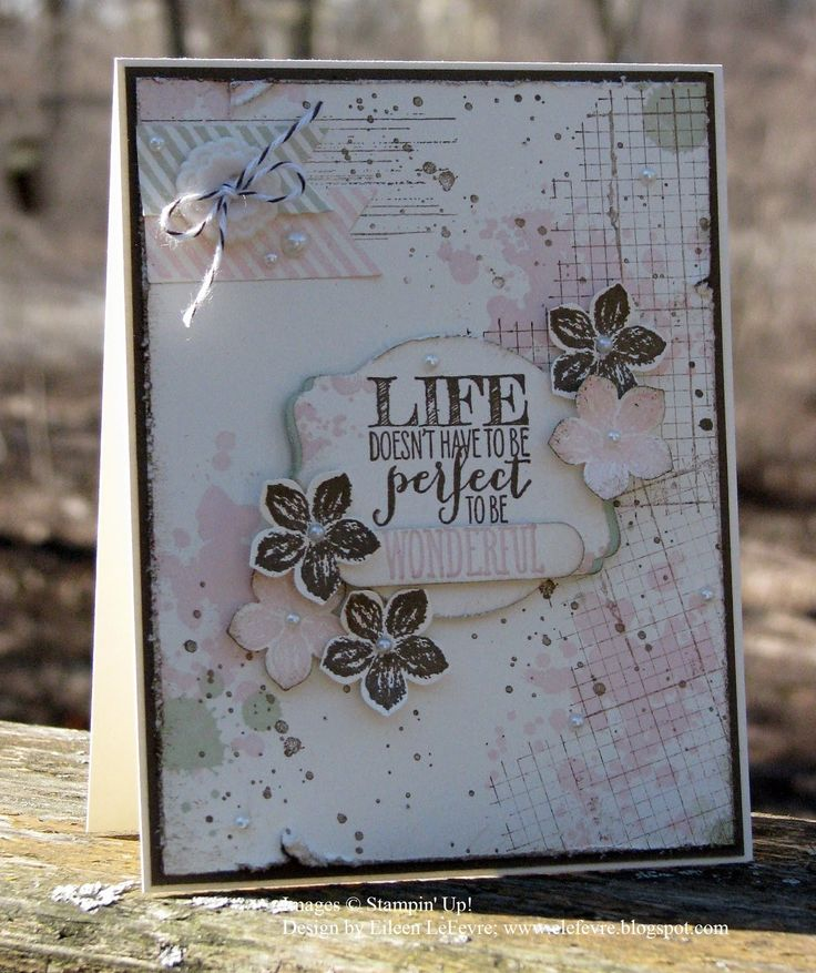 """Eileen's """"Stampin' Fever"""" Blog: Techno Stamper: Monday Lunchtime Challenge"""