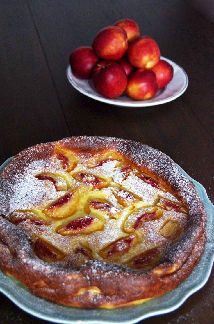 Peach Clafoutis recipe