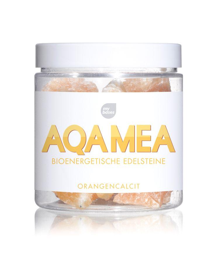 Bioenergetische Edelsteine, ORANGENCALCIT, www.aqamea.de