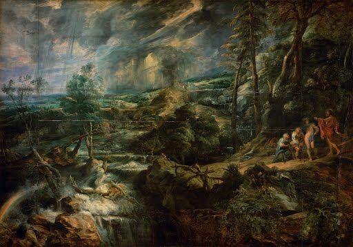 Landscape with Philemon and Baucis
