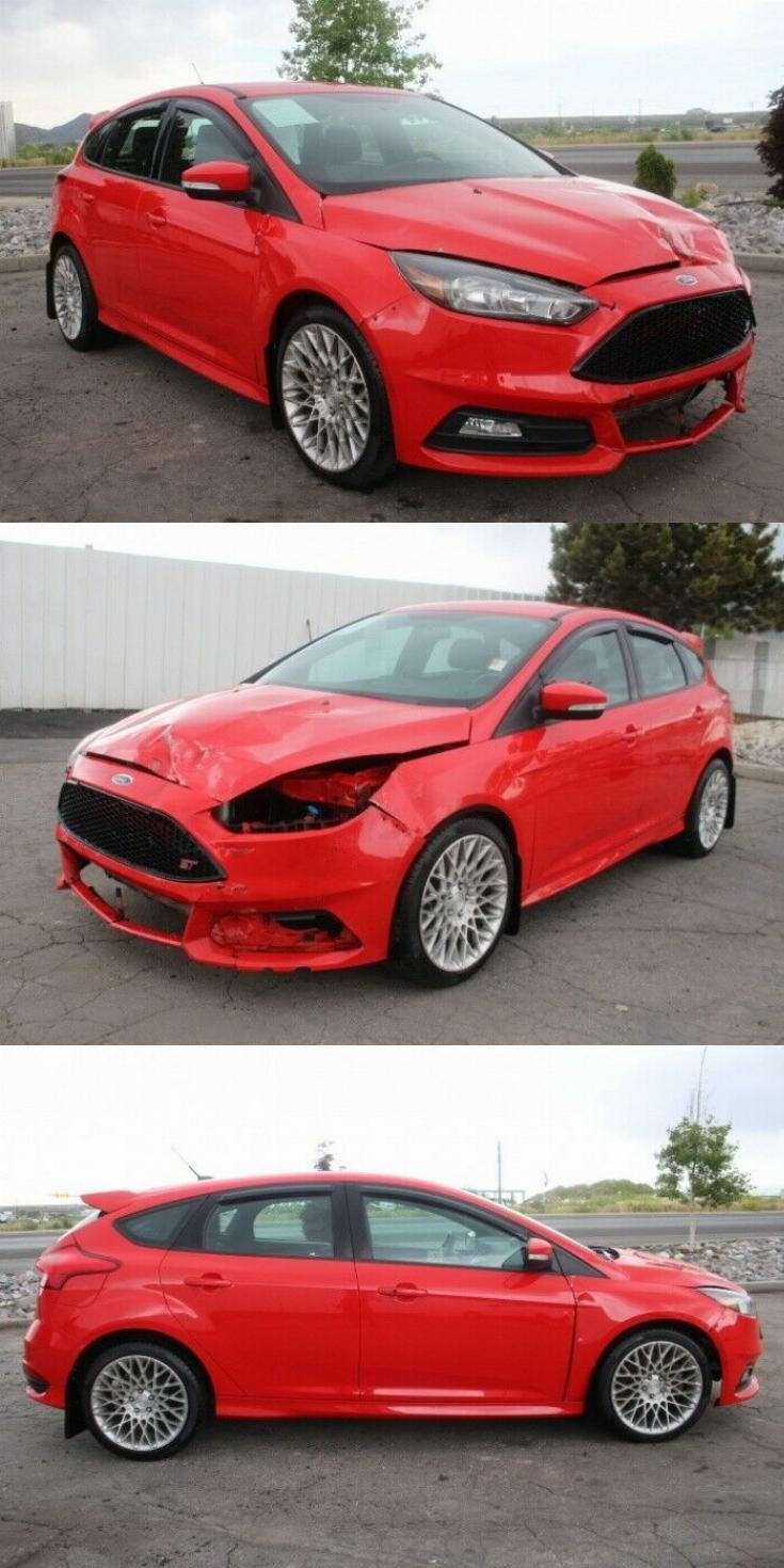 Extra Clean 2016 Ford Focus St Repairable Ford Focus St Ford Focus Sports Cars For Sale