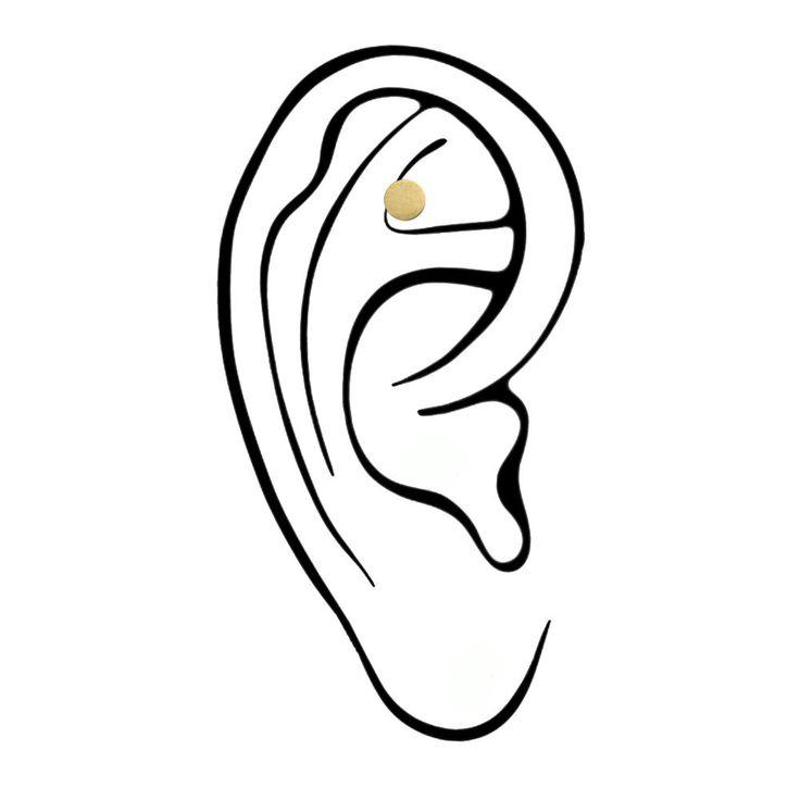 Nichtraucher Ohrmagnet Magnet im Ohr Rauchen aufhören Akupressur Akupunktur in Beauty & Gesundheit, Sonstige   eBay
