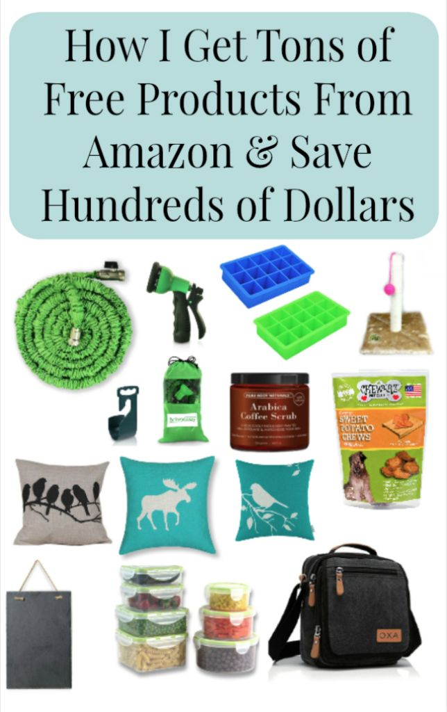 How I Get Tons of Free Products From Amazon and Save Hundreds of Dollars