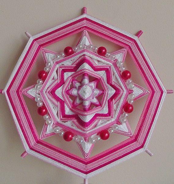 """Mandala Ojo de Dios """"Joys of motherhood"""""""
