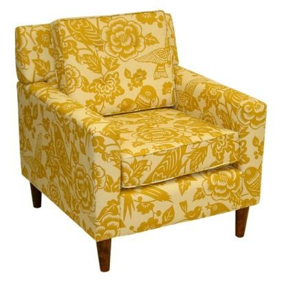 Clybourn Loft Armchair - Maize: Lounges Chairs, Cubes Chairs, Living Rooms, Rustic Furniture, Joss And Maine, Arm Chairs, Armchairs, Accent Chairs, Yellow Chairs