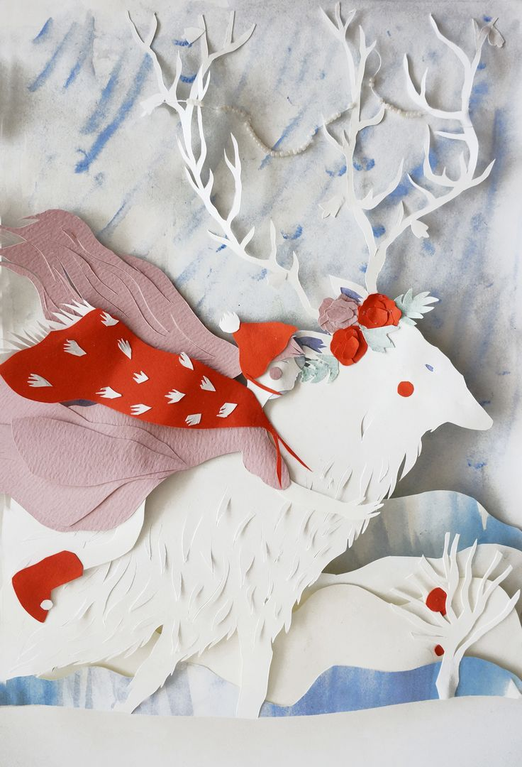 Interview with Cut Paper Artist Eugenia Zoloto | Click for full post! #papercut #illustration