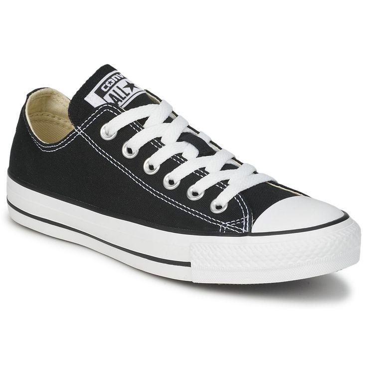 Baskets basses Converse CHUCK TAYLOR ALL STAR CORE OX Noir - Chaussure pas cher avec Shoes.fr ! - Chaussures 48,74 €