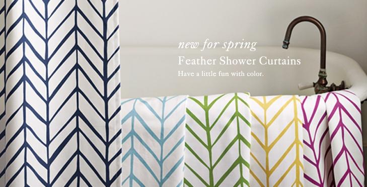 love these shower curtains @serenaandlily.