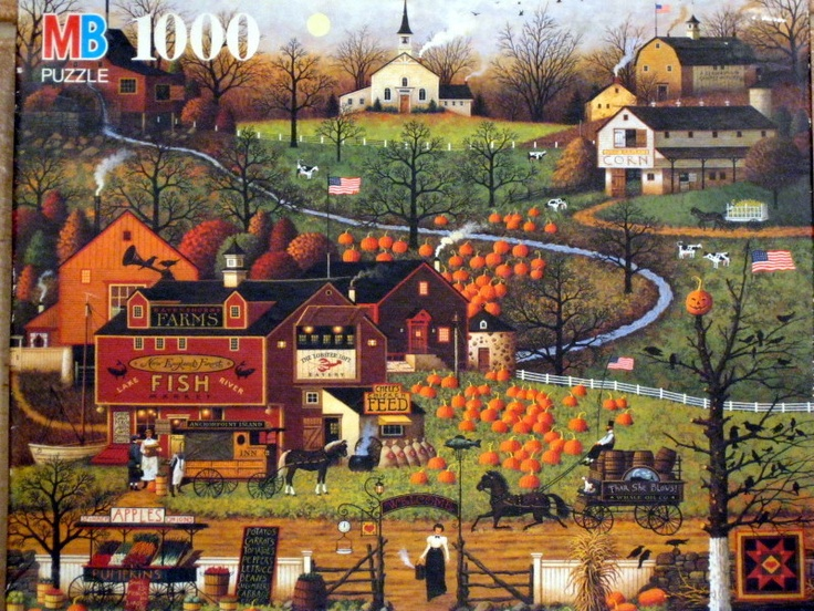 225 Best Images About Charles Wysocki On Pinterest