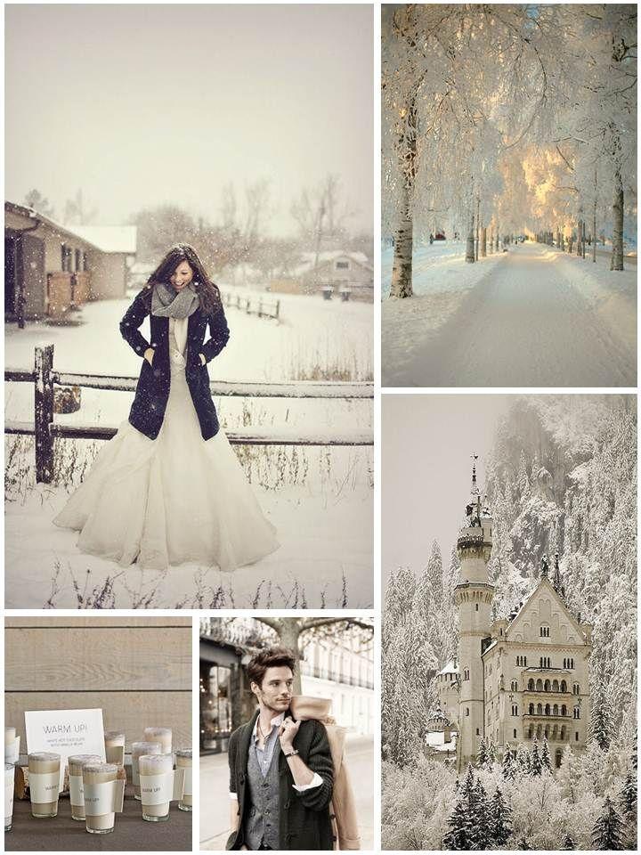 Winter Wonderland – Inspiration for a Winter Wedding