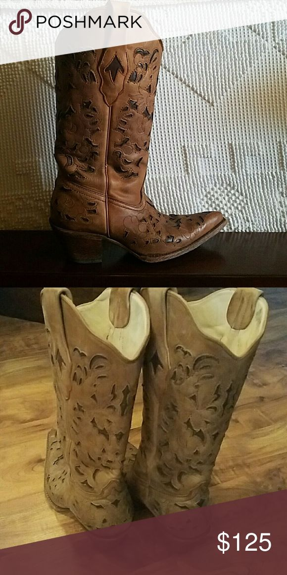Corral Vintage Boots Perfect condition, very gently used Corral   Shoes Heeled Boots