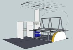 Camper or Campervan Conversion Unit , VW T4, T5, Renault Trafic, Mercedes Vito - Buscar con Google