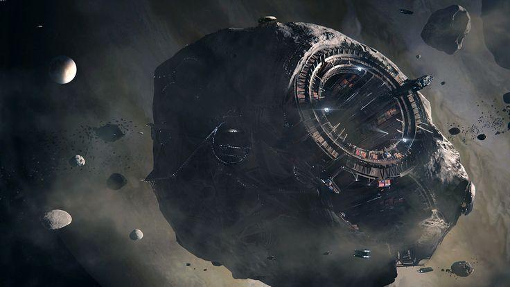 ArtStation - Asteroid, Michael Oberschneider