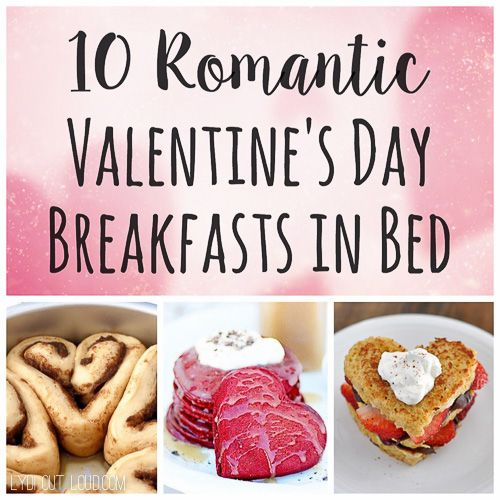 Valentine's Day is the perfect occasion to spoil your sweetie by surprising him or her with a delicious breakfast in bed! These recipes will do just that!