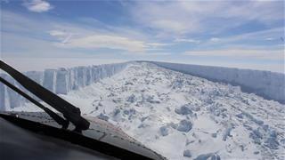 Iceberg Exposes Marine Ecosystem After 120K Years
