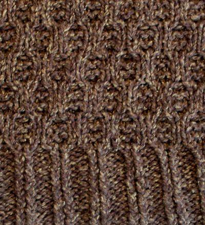 Honeycomb vest - Spring 2008 - Knitty