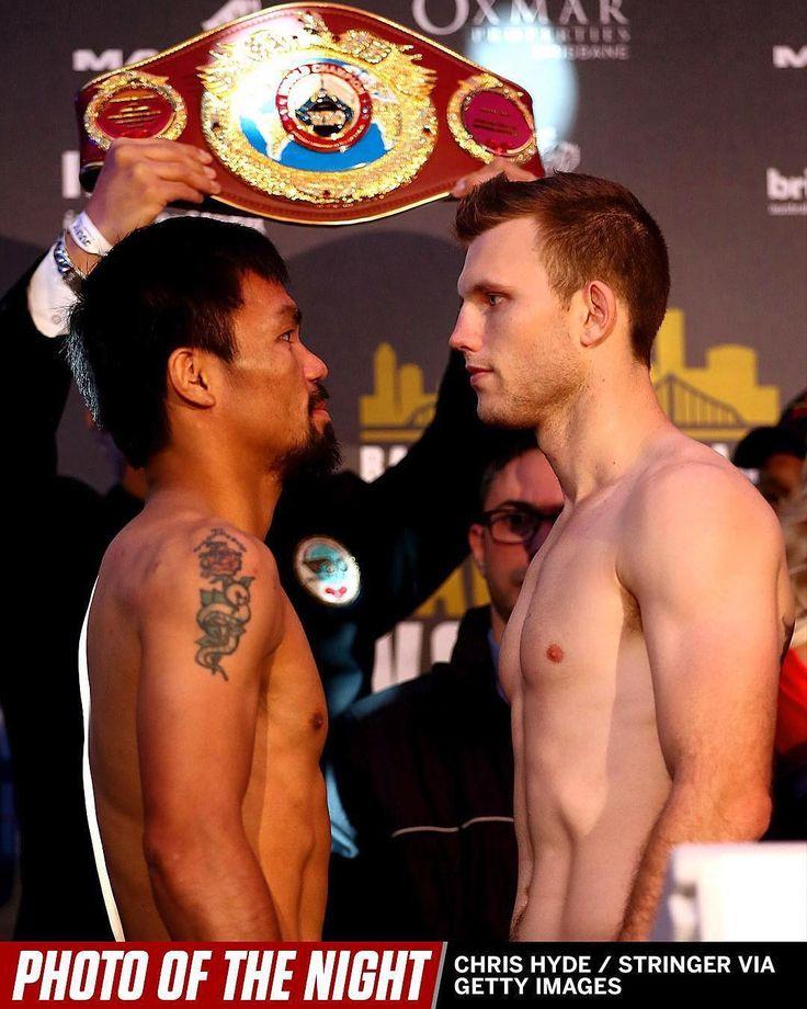 Manny Pacquiao vs. Jeff Horn tonight on @espn  _________________________ #Boxing #Boxeo #RoundByRoundBoxing #RBRBoxing #RBRBuzz #BoxingHype #BoxingFanatik #BoxingGuru #PacHorn #PacquiaovsHorn #TopRank #TRBoxing #WBO #Aussie #SunCorp #ESPN #PacquiaoHorn #BattleofBrisbane