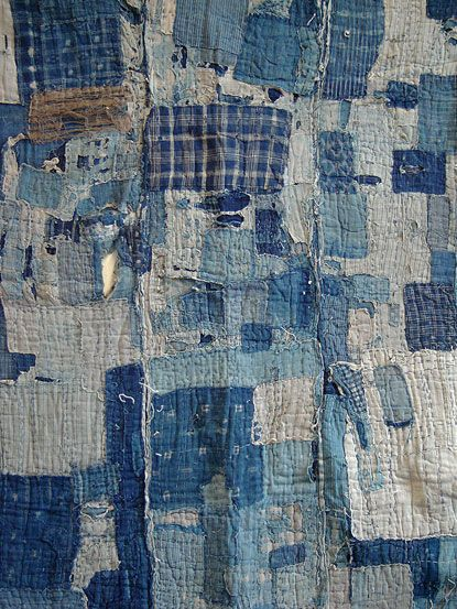 252 best Stitched boro sashiko images on Pinterest | Books ... : japanese quilt fabric - Adamdwight.com