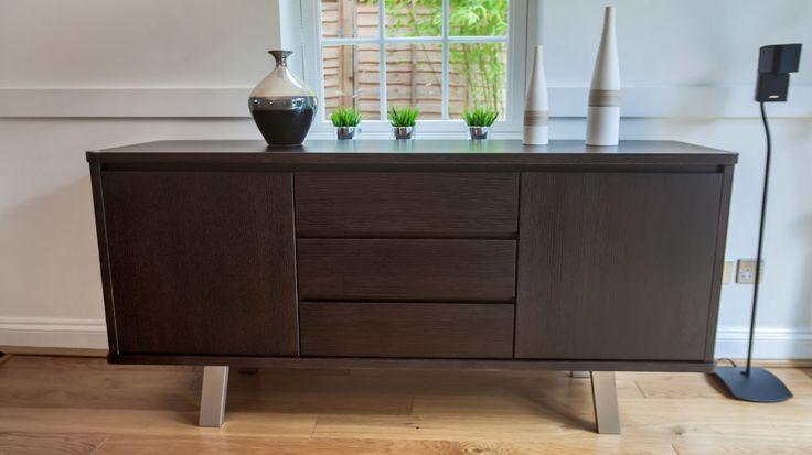 Assi Wenge Dark Wood Sideboard £439