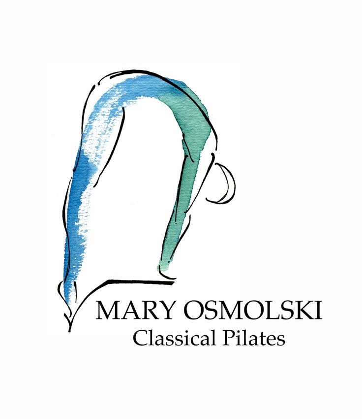 Custom Pilates painting I created for a logo. It's part of a series of poses I'm painting for a lovely studio owner.