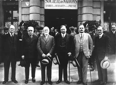 In the 1920s Canada had finally started gaining their independence from Britain. Canada's prime minister had started making his own decisions and we did not follow Britain into war as they incisted. We also started signing our own treaties and had a separate representation in the League of Nations which affected both us and britain.