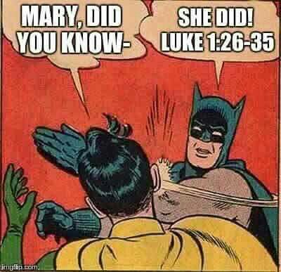 Christian humor, mary did you know»»»»» my fave  Christmas song