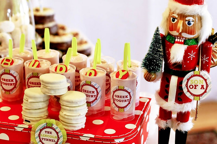 Buddy the ELF Christmas Party! - Kara's Party Ideas - The Place for All Things Party