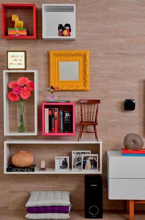 Nichos  para decorar ambientes pequenos