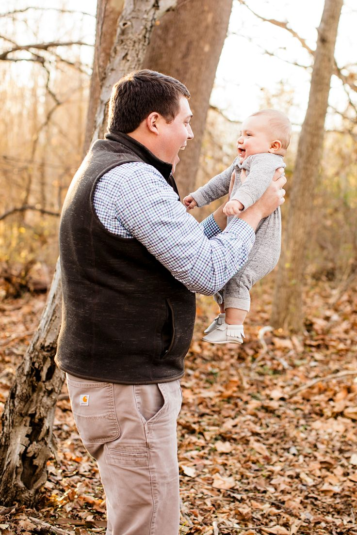 Daddy and Baby Nature Photoshoot