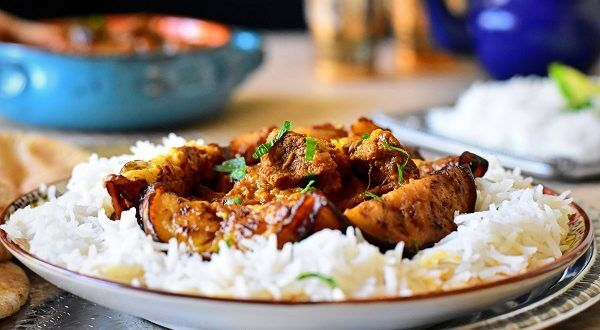 Ragoût d'aubergines à la viande syrien {khoresh Bademjan} Direction l'Iran avec ce délicieux...