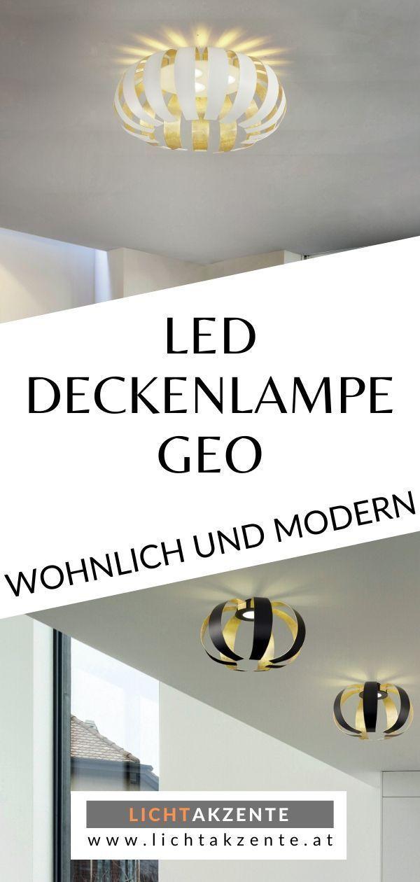 Braga Led Deckenleuchte Geo Pl40 In 2020 Deckenlampe Led
