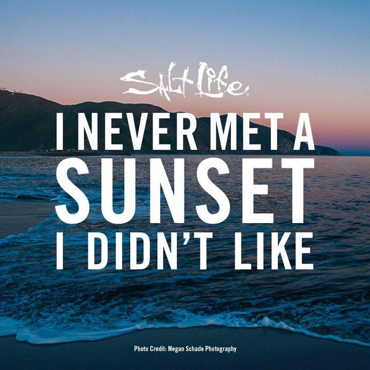 I Never met a #Sunset I didn't like #SaltLife