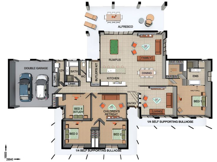 108 best Floor Plans images on Pinterest | Cottage floor plans ...