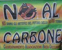 Calabria: continua la battaglia per il No al Carbone