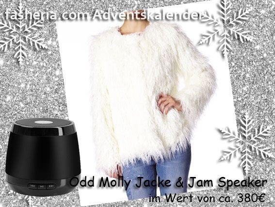 Der fasheria #Advenstkalender // Odd Molly Jacke & Jam Bluetooth Lautsprecher zu #gewinnen