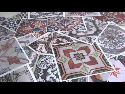 Traditional Spanish Tiles (Pack of 32) - Moonwallstickers.com