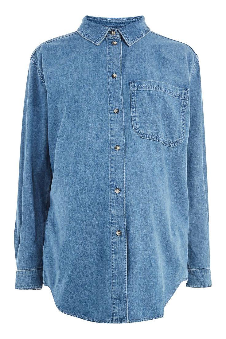 MATERNITY Oversized Pocket Shirt