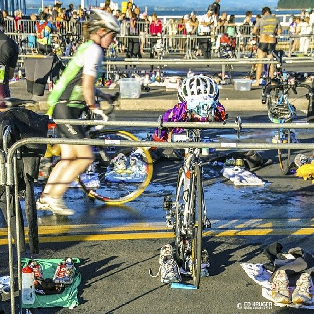 "@ed_kruger's photo: ""Ironman competition in Tauranga, New Zealand."""