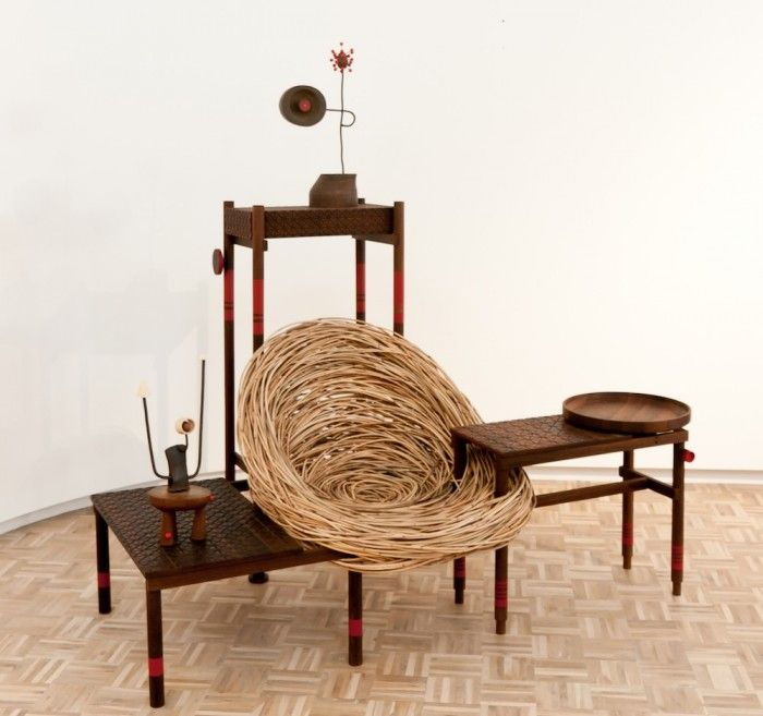 Southern Guild At Design Miami/Basil 2015: Botswanan Furniture Design  Company Mabeou0027s Collaboration With Cape Townu0027s Porky Hefer On A  Multi Fictional Piece, ...