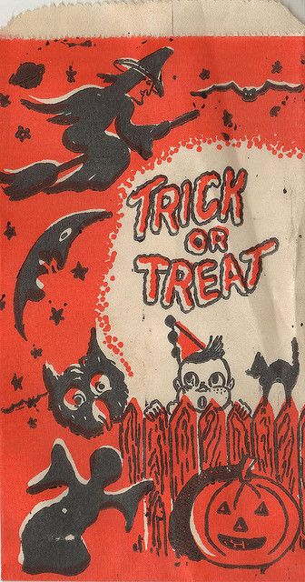 Trick or Treat Bag. HAPPY HALLOWEEN! → For more, please visit me at: www.facebook.com/jolly.ollie.77
