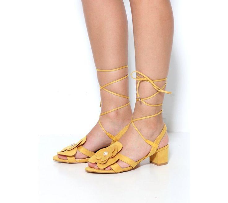Páskové boty se šněrováním kolem kotníku | modino.cz #ModinoCZ #modino_cz #modino_style #style #fashion #summer #sandals