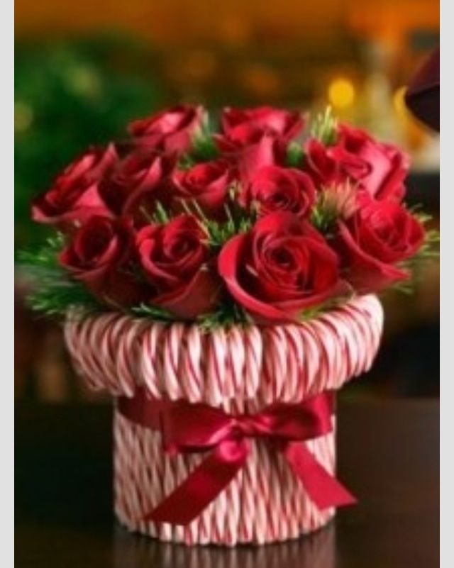 Image result for candy cane candle holder