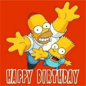Happy Birthday The Simpsons Simpsons Cartoon The