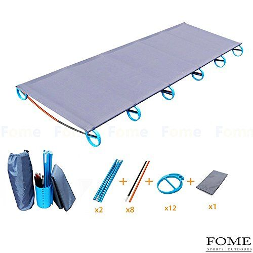 IDEEP Camping Cot, IDEEP Ultralight Portable Folding Camping Cot Aluminium Alloy Off Ground Foldable Bed for Adult 220lbs Bearing 73x23x4inch. For product & price info go to:  https://all4hiking.com/products/ideep-camping-cot-ideep-ultralight-portable-folding-camping-cot-aluminium-alloy-off-ground-foldable-bed-for-adult-220lbs-bearing-73x23x4inch/